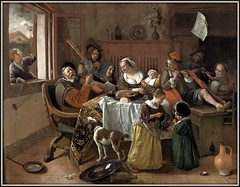 The Merry Family ------   Jan Steen (Suriaa) Tags: rijksmuseum holand steen
