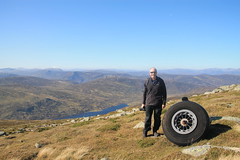 I'm Feeling Tyred (steve_whitmarsh) Tags: aberdeenshire scotland scottishhighlands highlands cairngorms wheel tsagairtmor mountain hills landscape portrait nature topic
