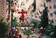 Cruces de mayo (BrooksieC) Tags: spain fiesta crucesdemayo andalusia