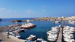 Il porto di Lampedusa (Mauro Bettarel) Tags: lampedusa porto italy mare sea cielo paesaggio vacanze