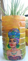 IMG_20190926_170950 (moname391) Tags: africanpainting recycle plasticbottle upcycle reuse handpainting acryliccolors acrylicpainting
