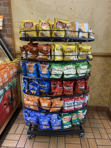 Lays Chips at Subway