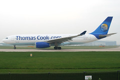 Thomas Cook Airlines - Airbus A330-243 - G-MDBD (Andy2982) Tags: airliner thomascookairlines airbusa330243 gmdbd cn266 manchesterairport