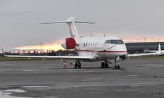 Triple Alpha Luftfahrt D-BUBI, OSL ENGM Gardermoen (Inger Bjørndal Foss) Tags: dbubi bombardier challenger osl engm gardermoen