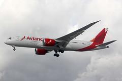 2014 Boeing 787-8 Dreamliner N780AV - Avianca - London Heathrow 2019 (anorakin) Tags: 2014 boeing 787 dreamliner n780av avianca london heathrow 2019