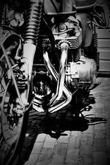 CB750R_B&W Photographic (Torquemada1965) Tags: wood parking preselectcom peugot mini mclaren karl ludwig bmw z4 mottoguzzi ferrari honda cb750 alfaromeo 8c westkapelle dike diggerworker