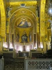 Sicily, Palermo, Capella Palatina (Adfoto) Tags: bible bijbel mosaïc mozaiek italy italië sicily sicilië chapel kapel palermo choir koor