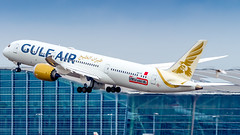Boeing 787-9 Dreamliner A9C-FE Gulf Air (William Musculus) Tags: plane spotting airplane airport aviation london heathrow egll lhr a9cfe gulf air boeing 7879 dreamliner gf gfa