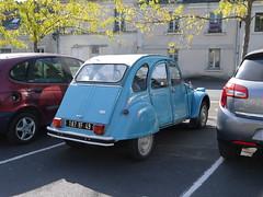 Citroën 2CV 6 (929V6) Tags: deuxchevaux eend geit