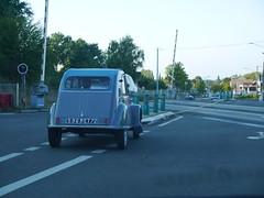 Citroën 2CV AZ 1961 (929V6) Tags: 596et72 deuxchevaux eend geit