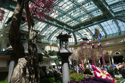 Las Vegas - Bellagio Jardin japonais