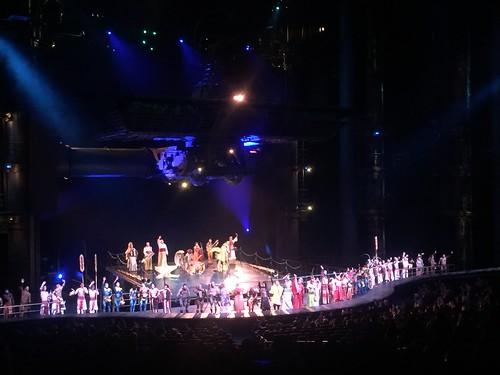 Las Vegas - Spectacle Cirque du soleil