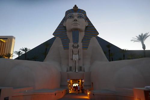 Las Vegas - Le Sphinx de Luxor