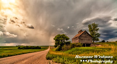 Piece of history, Griggs county (roxiesplacephotography) Tags: mapleton nd usa griggs county abandoned elevator landscape prints storms historic