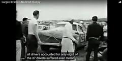 Nascar 37 car pile-up 1960 (2) (Mark Morgan Trinidad B) Tags: 37 nascar 1960 pileup accident collision