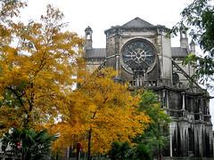 Sainte-Catherine church, Bruxelles (mammut2005) Tags: belgique belgium bruxelles brussels architecture church josephpoelaert autumn fall