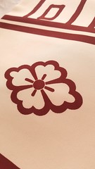 mon and shioze texture (KobatoHanatochan) Tags: 全通柄 京都 舞妓 衣装 だらりの帯 だらり 帯 コスプレ 希少 maiko geiko darari obi furisode kimono hikizuri henshin cosplay kamon okiya gion kyoto shioze silk gionkobu takahiro 芸妓 貝田 置屋 祇園 祇園甲部 塩瀬 家紋 引きずり 引き摺り kaida crest