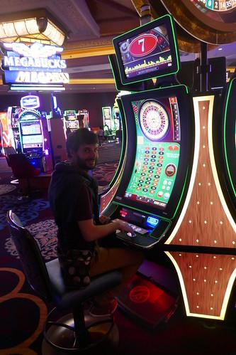Las Vegas - Nico devenu addict aux jeux