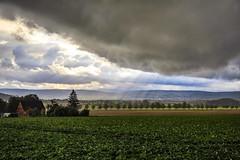 Unwetter am Deister (hangoverphotograph) Tags: herbst rain storm sturm cloud sonnenstrahlen grau deister hdr 24105mm 5dmarkiv canon feld regen sonne hannover unwetter wolken sky