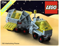 All Terrain Mobile Laboratory Rover Box Art (The Brick Artisan) Tags: classic space rover febrovery lego buggy lab ground vehicle solar panel