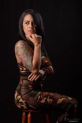 Tattoo girl (dainersm) Tags: tattoo portraits portrait sensual pretty women woman girl beautiful tatoo
