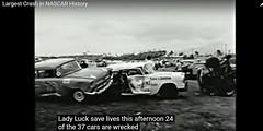 Nascar 37 car pile-up 1960 (3) (Mark Morgan Trinidad B) Tags: 37 nascar 1960 pileup accident collision