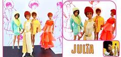 GOODBYE JULIA (ModBarbieLover) Tags: julia doll mattel barbie 1969 memorian diahanncarroll rip mod talking vintage