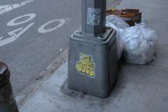 Juce (NJphotograffer) Tags: graffiti graff new york city ny nyc juce jucebox sticker