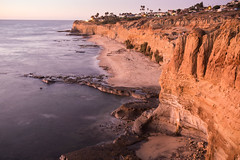 Sunset Cliffs, San Diego, CA (Photos By Clark) Tags: california cities subjects location beachshots canon2470 unitedstates northamerica sandiego canon5div locale places where sunset cliffs water pacific lomgexposure lightroom thesandiegoist