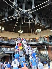 Heading Into Citi Field (Joe Shlabotnik) Tags: escalator galaxys9 baseball july2019 2019 mets citifield cameraphone faved