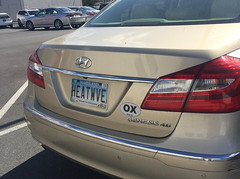 Maryland heatwave (afagen) Tags: washington dc washingtondc licenseplate maryland heatwave car hyundai