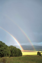 Double-Rainbows (grapeman) Tags: oregon rainbow willamette valley