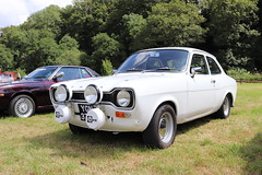 Ford Escort 2000 YGN370G (Andrew 2.8i) Tags: show automobile auto voiture cars car classics classic carmarthenshire arms bronwydd day transport railway gwili british saloon sedan europe fordofbritain mark 1 mk mk1 2000 escort ford ygn370g