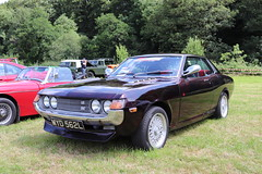 Toyota Celica 1600 ST MYD562L (Andrew 2.8i) Tags: show automobile auto voiture cars car classics classic carmarthenshire arms bronwydd day transport railway gwili japanese sports sportscar coupe 16st 1600st 16 st 1600 ta22 a20 celica toyota myd562l