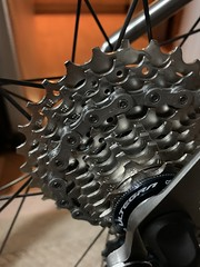 New Chain and Cassette (Mr.TinDC) Tags: seven ultegra shimano cogs gears cassette chain bicycle bike