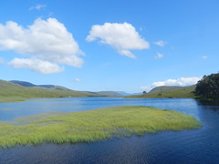 Loch Droma, West Highlands of Scotland, July 2019 (allanmaciver) Tags: loch droma hydro electric scheme highlands scotland water shades clouds weather beautiful day breeze allanmaciver