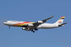 A340 (OO-ABA) Air Belgium (boeing-boy) Tags: airbelgium a340 mikeling boeingboy heathrow