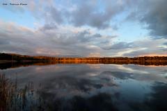 Autumnsunset (Patricia Buddelflink) Tags: sunset autumn lake nature water