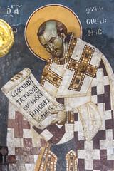 Saint John Chrysostom (zavar_vera) Tags: northmacedonia ohrid church peribleptos 13thcentury fresco mural michaelandeutychios