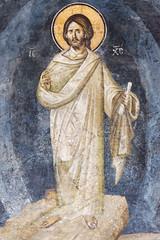 Transfiguration of Christ. Detail. (zavar_vera) Tags: northmacedonia ohrid church peribleptos 13thcentury fresco mural michaelandeutychios