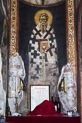 IMG_0884a (zavar_vera) Tags: northmacedonia ohrid church peribleptos 13thcentury fresco mural michaelandeutychios