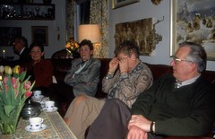 Gunnel fyller 70 år, mars 1997 (gustafsson_jan) Tags: stensund födelsedag födelsedagskalas gunnelgustafsson lasse gunbritthennings birgittaeriksson
