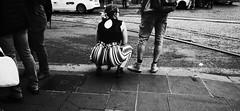 Lines. (Baz 120) Tags: candid candidstreet candidportrait city contrast street streetphoto streetcandid streetportrait rome roma ricohgrii europe women monochrome monotone mono noiretblanc bw blackandwhite urban life portrait people provoke italy italia girl grittystreetphotography faces decisivemoment