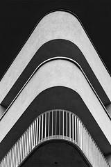 Rhythm of balconies (jefvandenhoute) Tags: belgium belgië brussels brussel light shapes geometric balconies