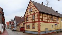 Hüttengesäß (wernerfunk) Tags: hessen fachwerk dorf village