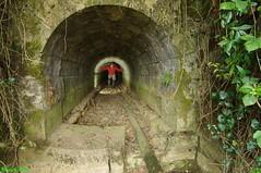 Entrée du Souterrain situé  sous l'ancienne voie ferrée de Salins les Bains - Pagnoz - Jura (francky25) Tags: entrée du souterrain situé sous lancienne voie ferrée de salins les bains pagnoz jura franchecomté