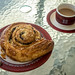 Breakfast = coffee and a french pastry
