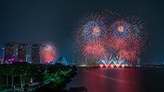 Singapore Formula 1 Fireworks (BP Chua) Tags: f1 formula1 grandprix fireworks night colours marinabay marinabaysingapore nikon nikond800e singapore f1nightrace singaporegp