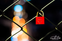 Love Lock (Theo Crazzolara) Tags: lovelock love lock lisboa portugal bokeh macro closeup city romance romantic lights night beautiful lovesick liebe herz heart red valentinesday valentine together