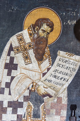 IMG_0944b (zavar_vera) Tags: northmacedonia ohrid church peribleptos 13thcentury fresco mural michaelandeutychios